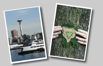 Click any of the Seattle area cities to learn more about them.